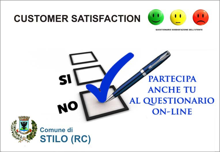 CUSTOMER SATISFACTION Comune di Stilo
